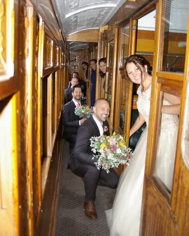 December wedding date with Erin & Tristan :Korumburra