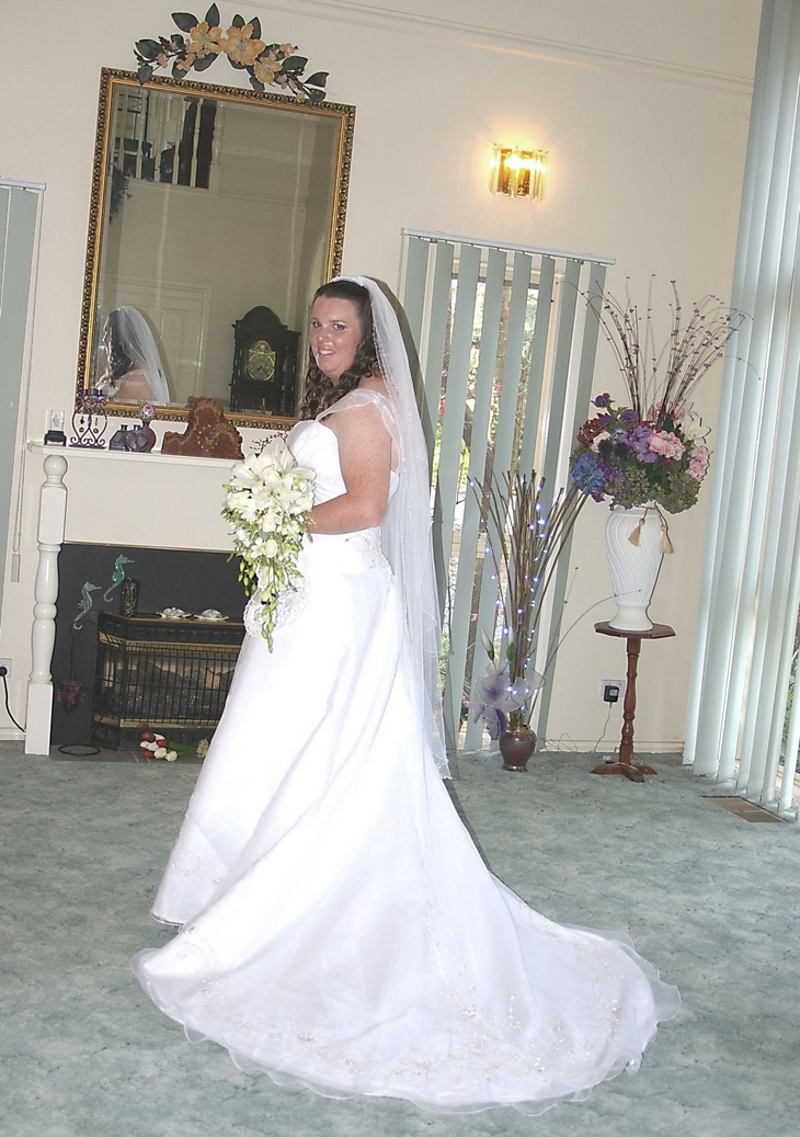 Wedding photographer:Bridal photography for'Bec