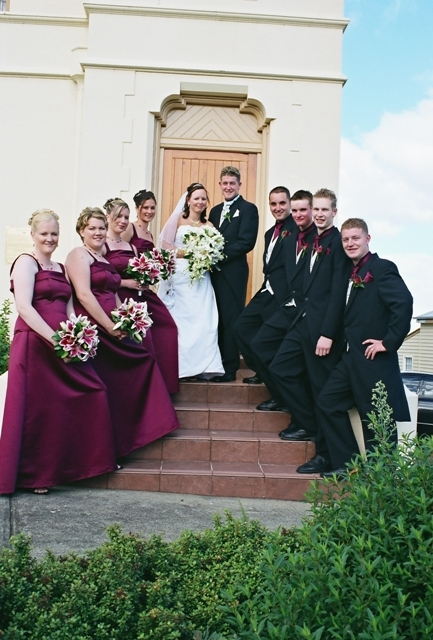 Wedding Photographer: Bridal Party, Featuring the venue