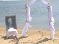Beachside Wedding Decor,Loch Sport