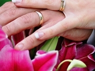 Ring  Hands & Flowers