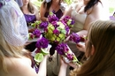 Photograph featuring bright wedding bouquets