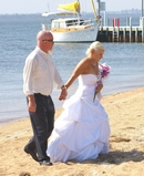 Lauren off to her Wedding Ceremony,Loch Sport