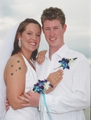 Mark & Casey,In their Wedding Day moment...
