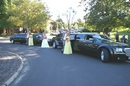 Dueling Wedding Limo's..Photo opportunity!