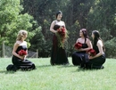 Jo & Her Bridesmaids,Wedding Photos From The Dandenong Ranges