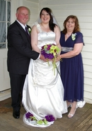October photography,Bride & Parents