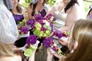 Wedding photographer:Bright wedding bouquets photo