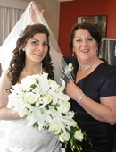 Wedding Veil :  Mum and Daughter (Bride to Be)