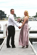 Private Jetty Wedding Photo With Sean & Pam