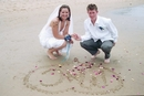 Wedding Photography:Heart -Lines In The Sand,Inverloch