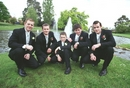 Groomsmen & Groom  Wedding photo at Warragul's Civic Park