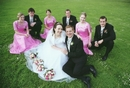 Happy  Bridal Group Casually comfortable for wedding and special occasions photography